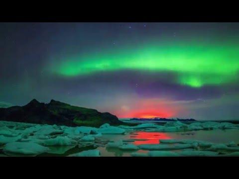 Самое красивое северное сияние в 4К качестве!