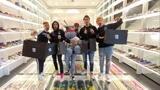 The LG Fortnite House Goes Sneaker Shopping ($130,000 SUPREME BEAR!)