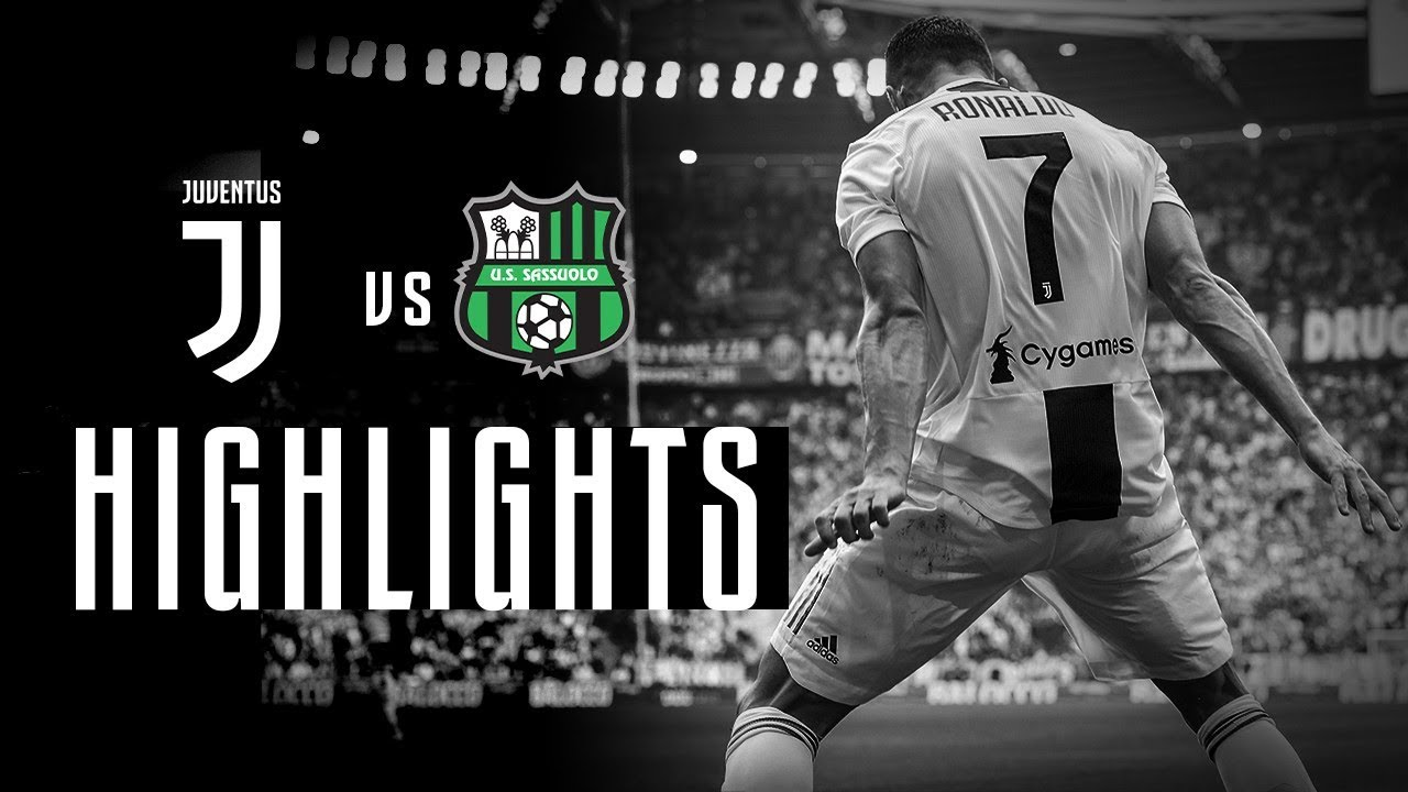 d29f8229a HIGHLIGHTS  Juventus vs Sassuolo - 2-1