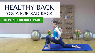 Healthy Back | Bad Pain Relief, Stretch for Bad Back, Home Exercise for Bad Back