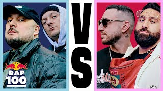 Kool Savas & Olexesh VS Sinan-G & Maestro | Rap Duell #10 | Red Bull Rap Einhundert