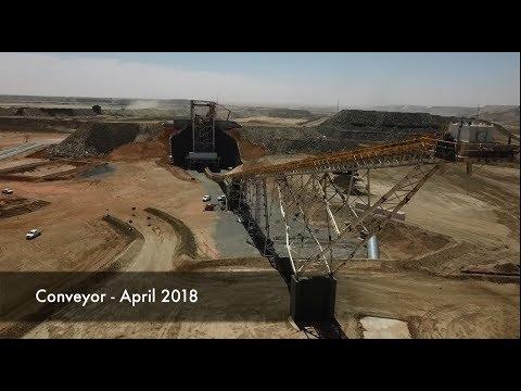 Kinross Gold Tasiast Phase One expansion development update – April 2018