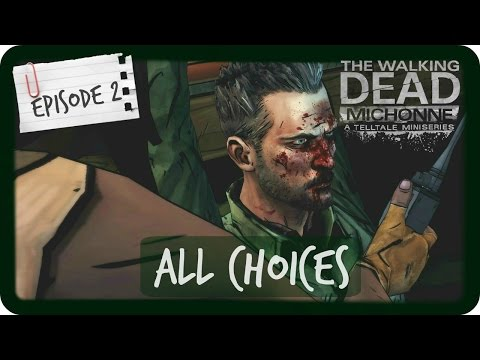 The Walking Dead Michonne | ALL CHOICES | Episode 2