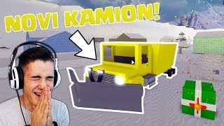 WE BOUGHT THE TRUCK AT LAST! (ROBLOX SNOW ADVENTURE) ep. 3