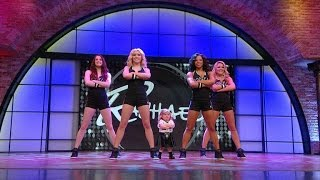 Insanely Adorable YouTube Sensation Audrey Gets Down with the Brooklynettes | Rachael Ray Show