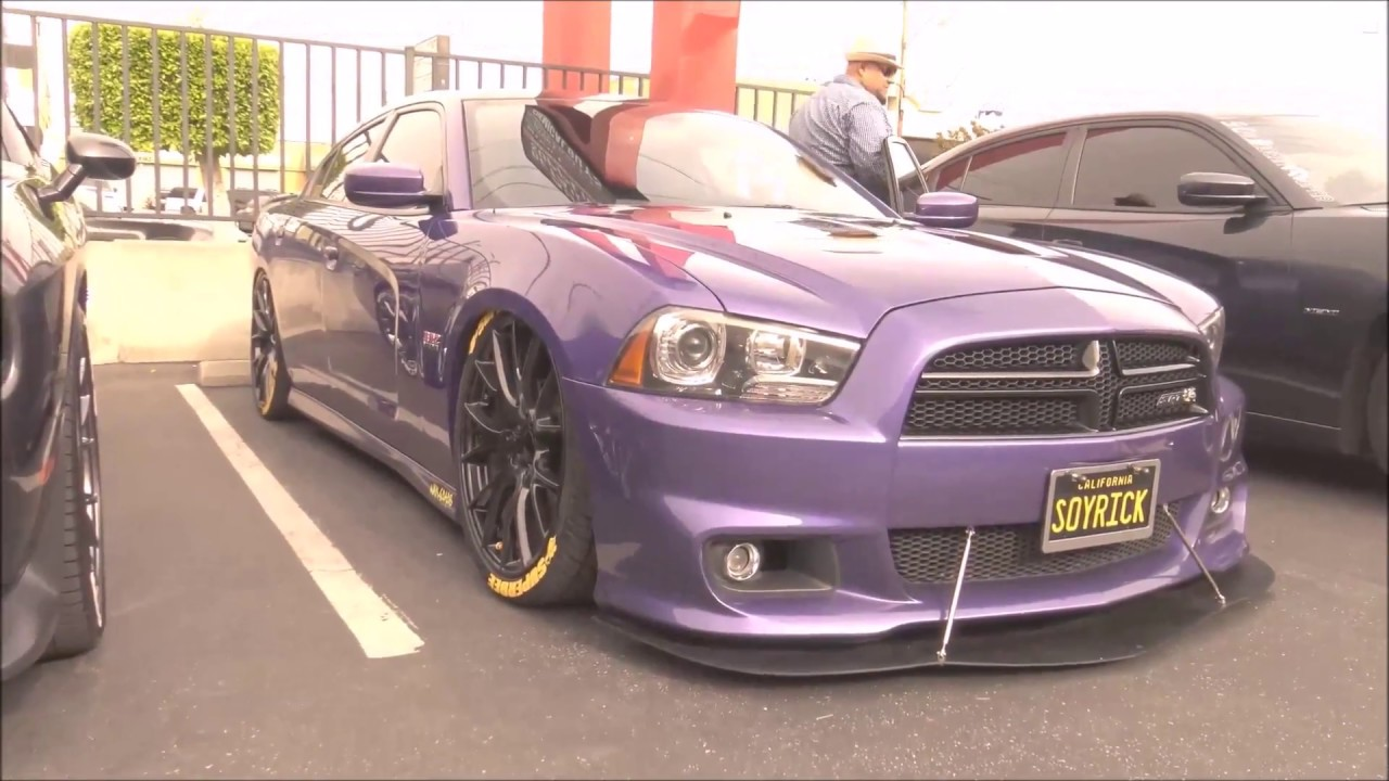 2013 Dodge Charger Srt Lowered And Custom Youtube
