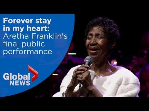 Aretha Franklin's Final Public Performance