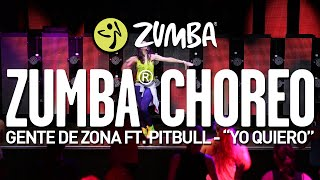 "Gente de Zona ft Pitbull - ""Yo Quiero"" / Zumba® choreo by Alix"