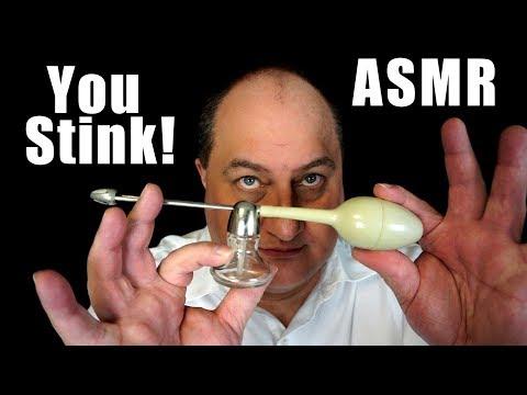 Stinky Pits ASMR Binaural Perfume Sprayer