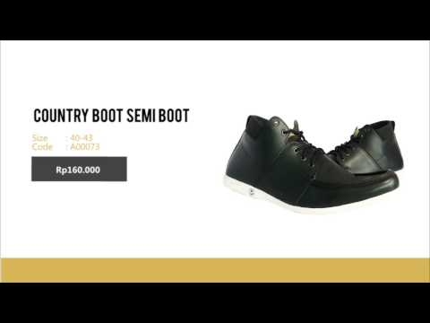 COUNTRY BOOT SEMI BOOT  | JUAL SEPATU CASUAL MURAH | PIN BBM 51B100E8 - Www.sepatudanjersey.com