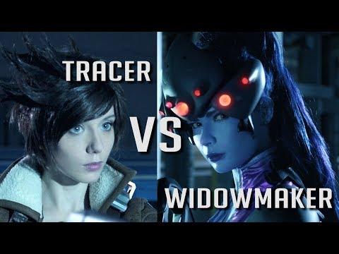 Tracer VS Widowmaker - short film (inspired by OVERWATCH)