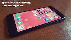 Iphone 7 / Iphone 7 Plus Not Receiving Text Messages Fix - Fliptroniks.com