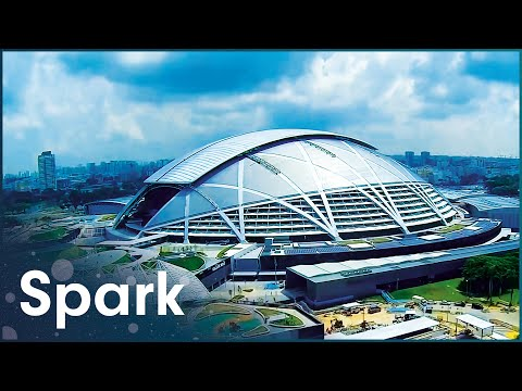 Building Worlds Ultimate Multi-Purpose Sports Complex   Singapore's Field Of Dreams   Spark