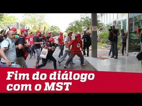 É o fim do diálogo com o MST