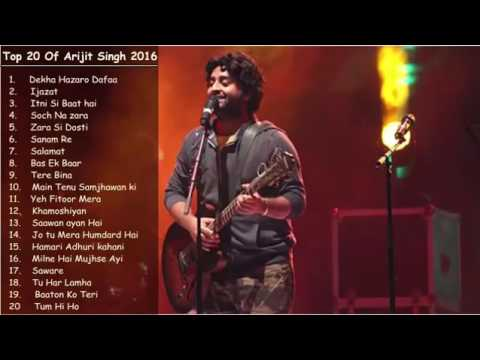 Best of Arijit Singh Latest and Top Songs Jukebox 2016   YouTube