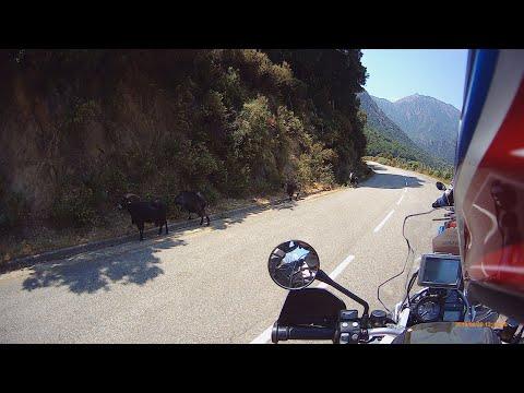 Motorradreise nach Korsika 2019 BMW R1200 GS Rallye II Adventure