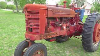 1953 IHC Farmall Super M Tractor w/PTO and Remote Valve