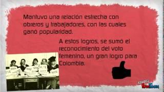 El gobierno de Rojas Pinilla