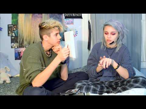 Charcoal Face Peel Masks With Cameron | Kylie The Jellyfish