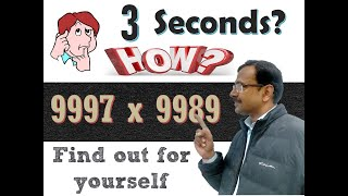 Trick 3 - Multiplying Numbers Near a Common Base