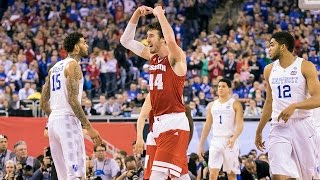 Wisconsin vs Kentucky Final Four Highlights