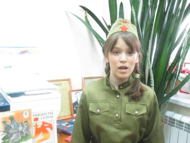 Изображение предпросмотра прочтения – ДиляраФаррахова читает произведение «Жди меня, и я вернусь...» К.М.Симонова