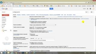 Como redireccionar correo en gmail