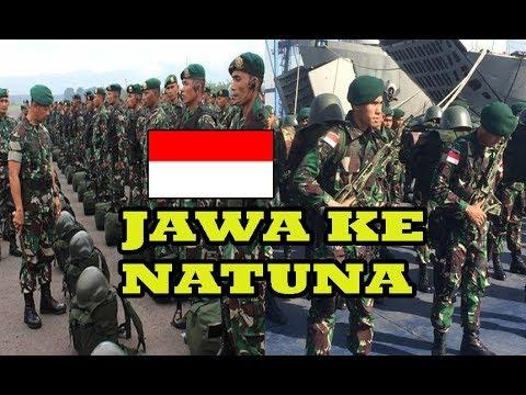 CHINA KHAWATIR PANGLIMA TNI Mutasi Ribuan Tentara Jawa Ke Pangkalan Natuna