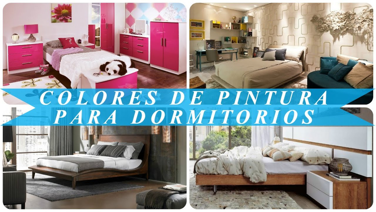 Colores de pintura para dormitorios youtube - Color de pintura para dormitorio ...