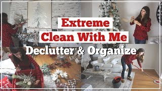 CLEAN With Me AFTER CHRISTMAS | 2019 CLEAN, ORGANIZE & DECLUTTER MOTIVATION | Momma From Scratch
