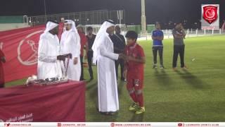 تتويج لخويا تحت 13 سنة (الواعدين) ببطولة الدوري لموسم 2017/2016