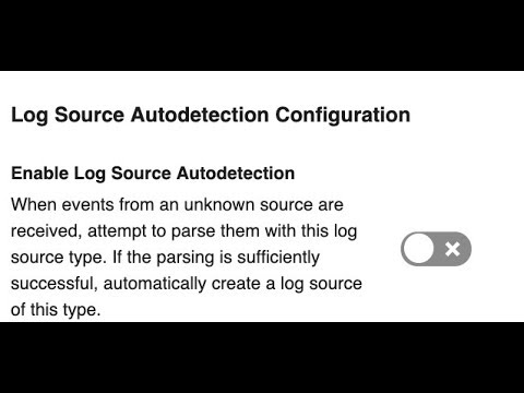 Traffic Analysis tuning in 7 3 2 (AutoDiscovery of Logs Sources)