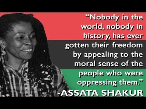 RBGAssata Speaks On Being Shot fCommon, A Song for Assata