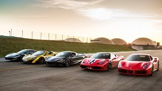 THE ULTIMATE SUPERCAR DRAG RACE