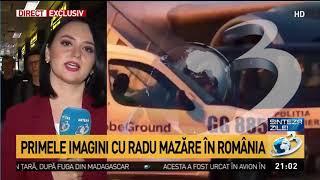 Radu Mazăre, în cătușe, a coborât din avion