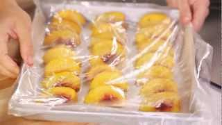 How to Freeze Fręsh Peaches