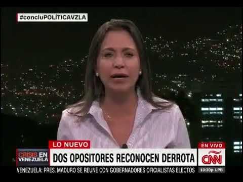 La discusión entre María Corina Machado y Fernando del Rincón tras elecciones regionales