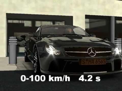 Racer free car simulation mercedes sl65 amg youtube for Mercedes benz car wash free