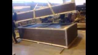 видео Ворота трансформаторных подстанций | Серия 3.407.9-133 | Конструкция ворот с распашными створкам