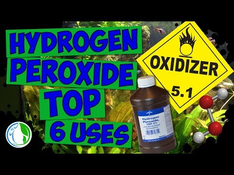 Using Hydrogen Peroxide in the Aquarium Hobby