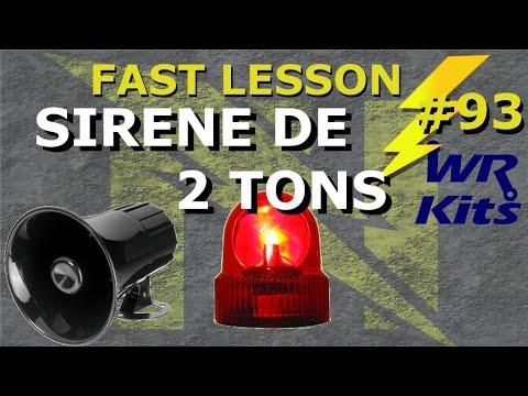 sirene de 2 tons fast lesson 93 youtube. Black Bedroom Furniture Sets. Home Design Ideas