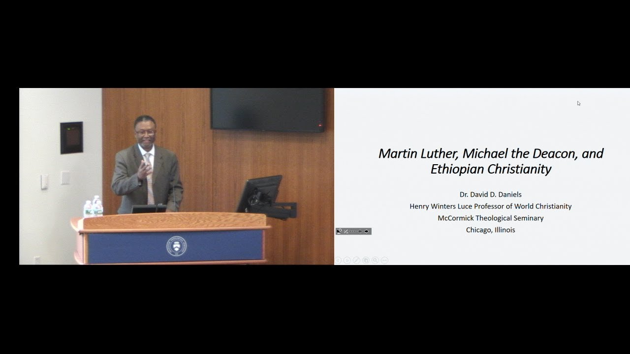 """Reformed Theology """"Ethiopian Christianity in the World of Martin Luther and 16th Century Protestantism""""  Calvinism"""