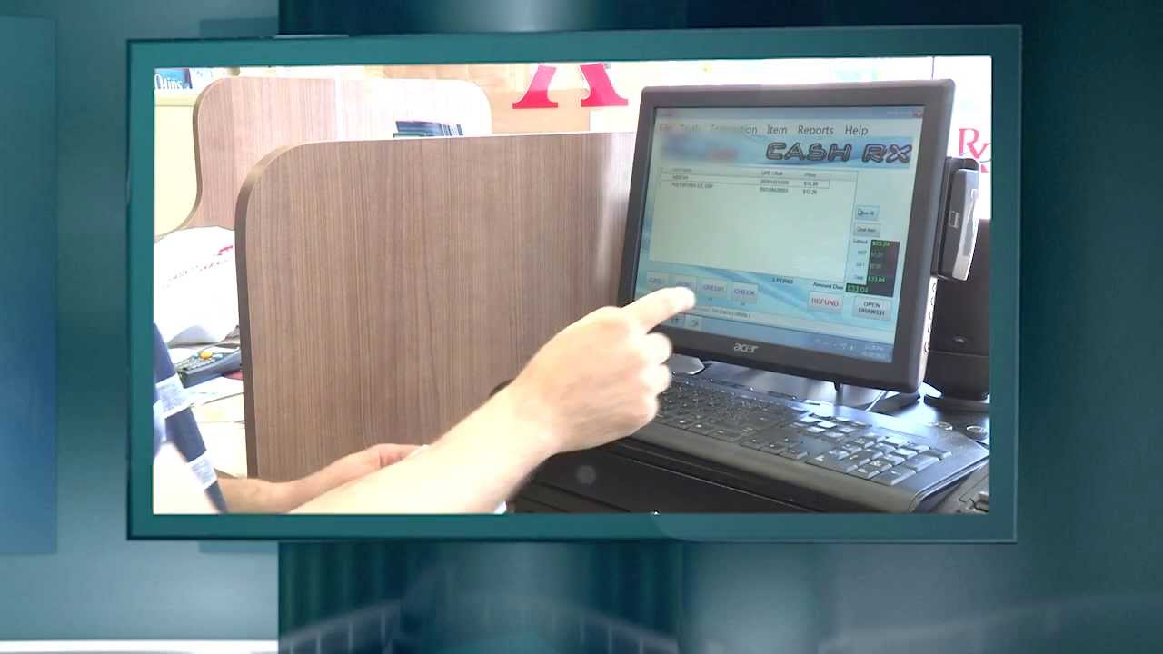 Cashrx Canadian Pharmacy Point Of Sale System Youtube