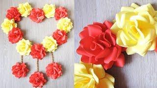 DIY Paper Craft. Paper Heart Design Valentine