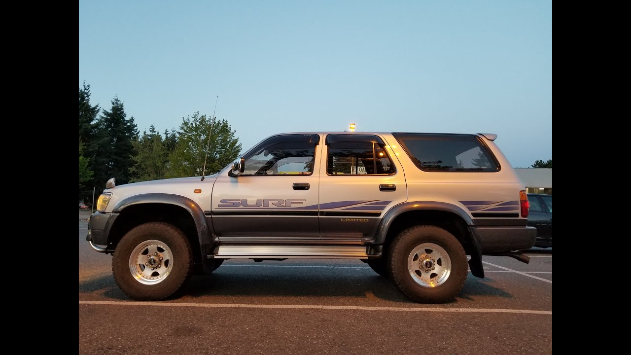 JDM 1994 Toyota Hilux Surf for sale in Seattle WA