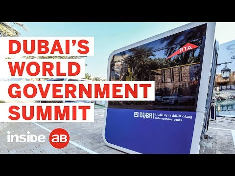 Why Dubai's World Government Summit offers much more than the World Economic Forum in Davos