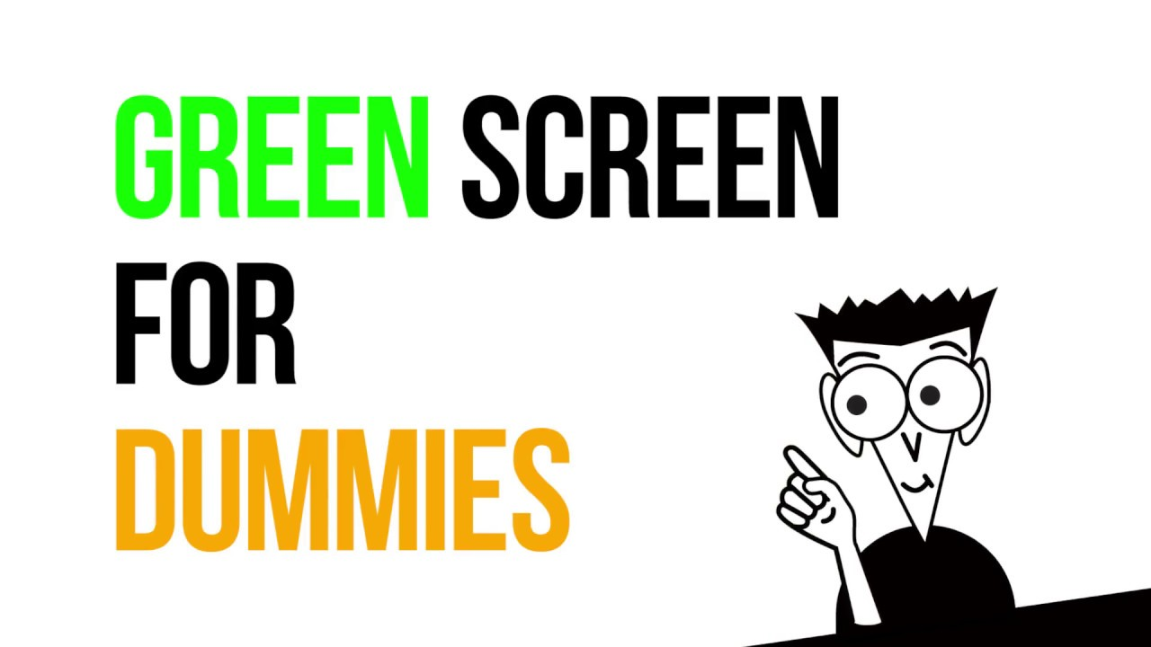 How to create a great video using free green screen software