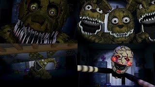 - FNaF Custom Jumpscares COMPILATION FNAF 4 WayTwo