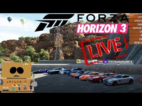 forza horizon 3 multiplayer welcome to join in
