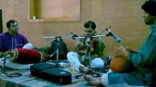 Carnatic classical Mahaganapathim - Instrumental Violin by Karthik Subramany Live